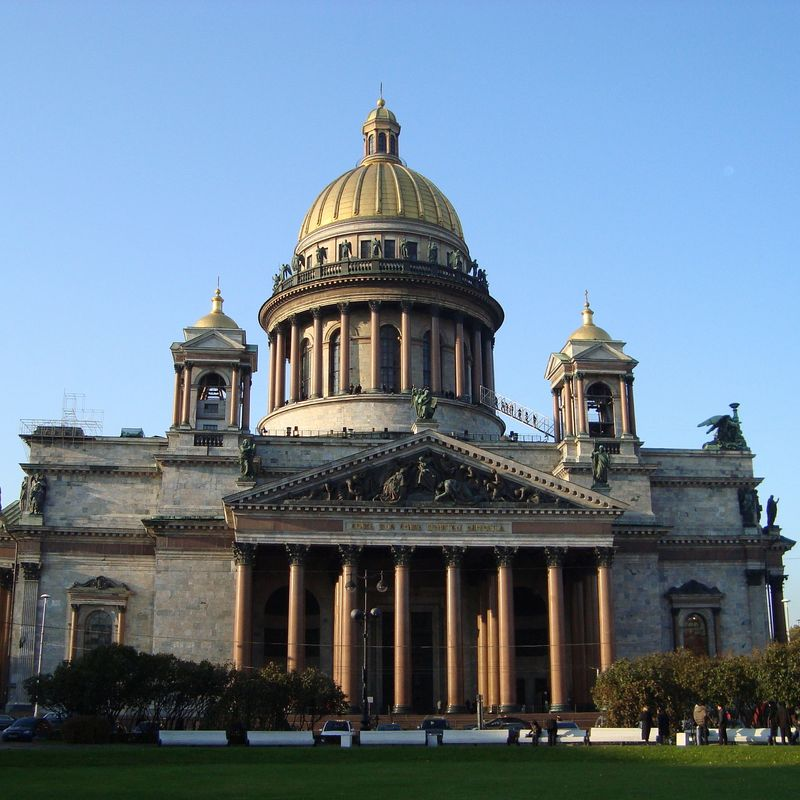 St Isaak`s cathedral